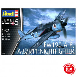Fw190 A-8, A-8/R11 NIGHTFIGHTER REVELL 03926