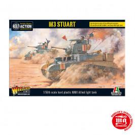 M3 STUART WARLORD GAMES BOLT ACTION 402013002 ESCALA 1:56