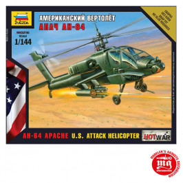 US ATTACK HELICOPTER AH 64 APACHE ZVEZDA 7408
