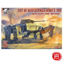 FIST OF WAR GERMAN WWII E-100 SUPER HEAVY TANK NOTHUNG MODELCOLLECT UA72126