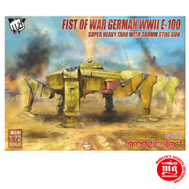 FIST OF WAR GERMAN WWII E-100 SUPER HEAVY TANK WITH 380mm STUG GUN MODELCOLLECT UA72151
