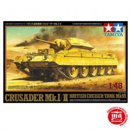 CRUSADER Mk.I/II BRITISH CRUISER TANK Mk.VI TAMIYA 32541