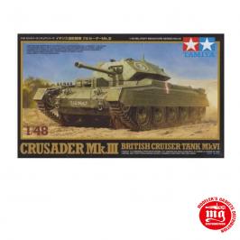 CRUSADER Mk.III BRITISH CRUISER TANK Mk.VI TAMIYA 32555 ESCALA 1:48