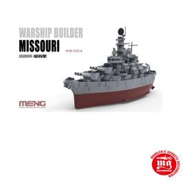 WARSHIP BUILDER MISSOURI MENG WB-004