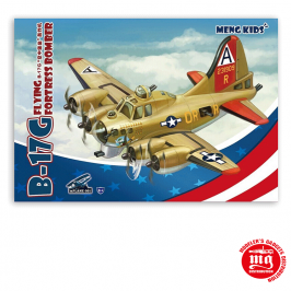 B-17G FLYING FORTRESS BOMBER MENG KIDS MENG MM MPLANE-001