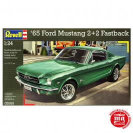 65 FORD MUSTANG 2+2 FASTBACK REVELL 07065