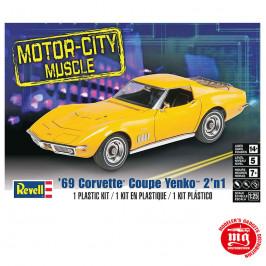 69 CORVETTE COUPE YENKO 2 EN 1 REVELL 85-4411