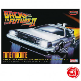 TIME MACHINE MARK II DELOREAN REGRESO AL FUTURO II POLAR LIGHTS 925