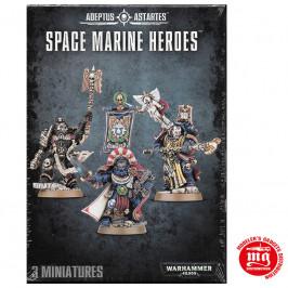 SPACE MARINE HEROES WARHAMMER 40000