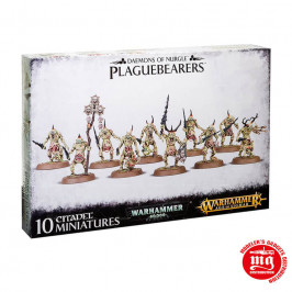 DAEMONS OF NURGLE PLAGUEBEARERS WARHAMMER 40000
