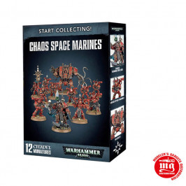START COLLECTING CHAOS SPACE MARINES WARHAMMER 40000