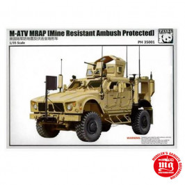 M-ATV MRAP MINE RESISTANT AMBUSH PROTECTED PANDA PH 35001