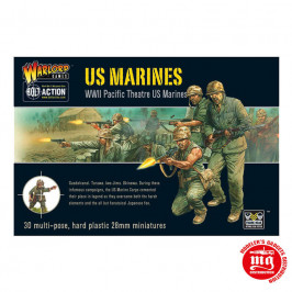 US MARINES WWII PACIFIC THEATRE US MARINES WARLORD GAMES