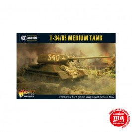 T34 85 MEDIUM TANK WARLORD GAMES