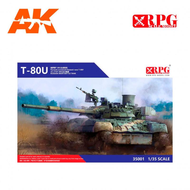 T 80U RUSSIAN MAIN BATTLE TANK RPG 35001