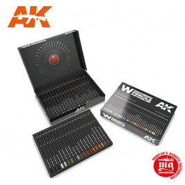 WEATHERING PENCILS FOR MODELLING AK10047