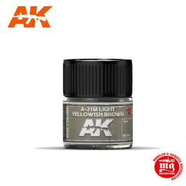 A-21M LIGHT YELLOWISH BROWN RC314