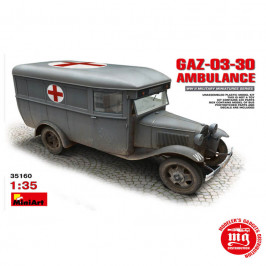 GAZ 03 30 AMBULANCE MINIART 35160