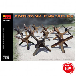OBSTACULOS ANTITANQUE MINIART 35579