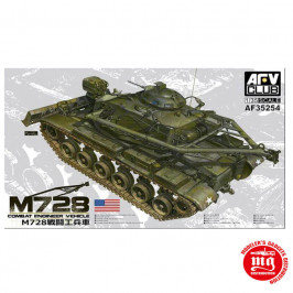 M728 COMBAT ENGINEER  VEHICLE AFV CLUB AF35254
