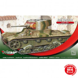 T-26 TANQUE LIGERO MODELO 1933 MIRAGE HOBBY 726009