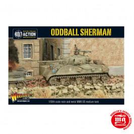 ODDBALL SHERMAN BOLT ACTION WARLORD 402413001 ESCALA 1:56