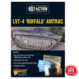 LVT-4 BUFFALO AMTRAC BOLT ACTION WARLORD 402413005 ESCALA 1:56
