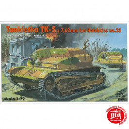 TANKIETKA TK-S CON 7.62 mm HOTCHKISS RPM 72500