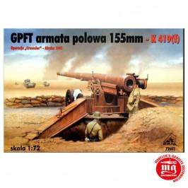 GPFT ARMATA POLOWA 155 mm K 419 f RPM 72602