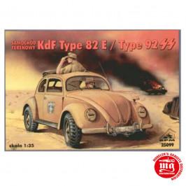 KdF TYPE 82E TYPE 92 SS RPM 35099