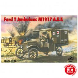 FORD T AMBULANS M1917 A.E.F. RPM 48001 ESCALA 1:48