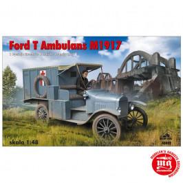 FORD T AMBULANS M1917 RPM 48002 ESCALA 1:48