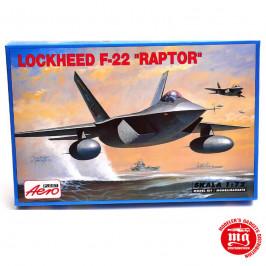 LOCKHEED F-22 RAPTOR AEROPLAST 00219