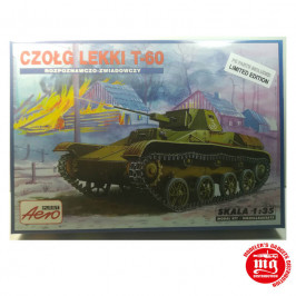 T-60 TANQUE LIGERO CON ARMAMENTO ADICIONAL EDICION LIMITADA AEROPLAST 00080