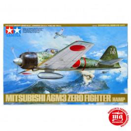 MITSUBISHI A6M3 ZERO FIGHTER HAMP TAMIYA 61025