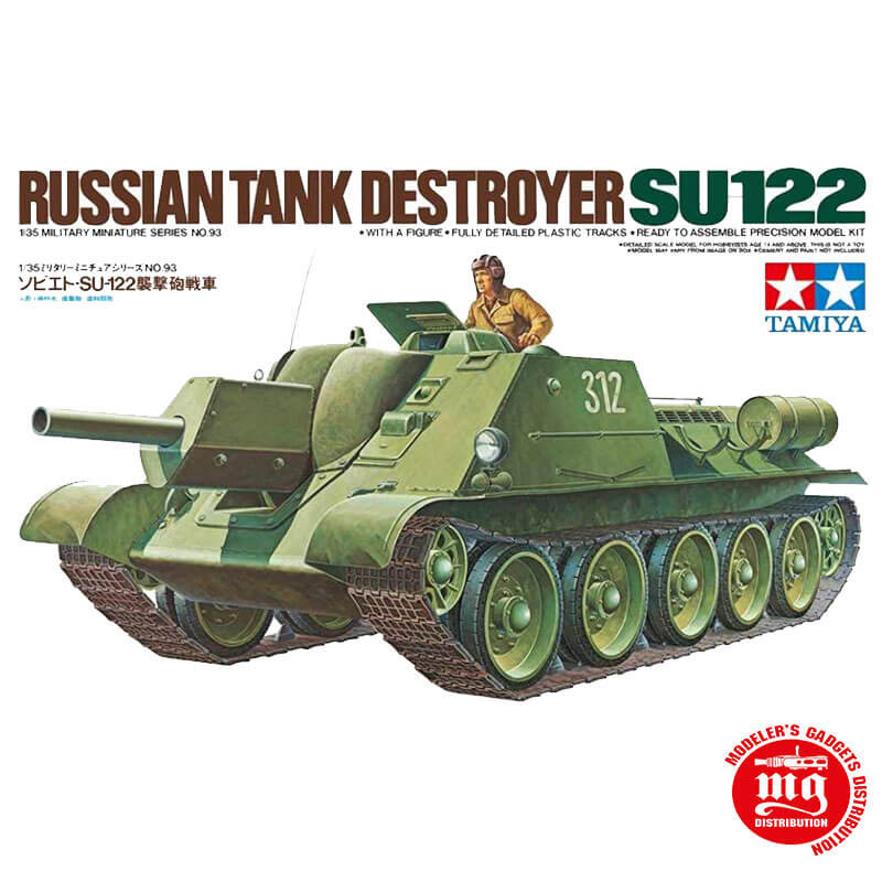 RUSSIAN TANK DESTROYER SU122 TAMIYA 35093
