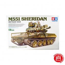 M551 SHERIDAN VIETNAM WAR TAMIYA 35365