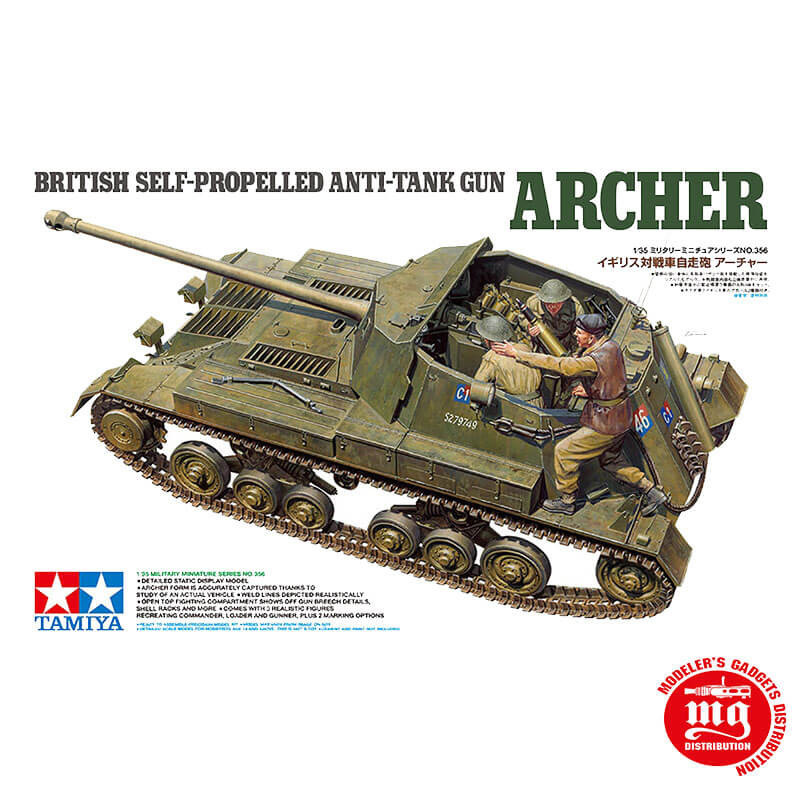 BRITISH SELF PROPELLED ANTI TANK GUN ARCHER TAMIYA 35356