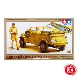 GERMAN KUBERWAGEN TYPE 82 AFRIKA KORPS TAMIYA 32503