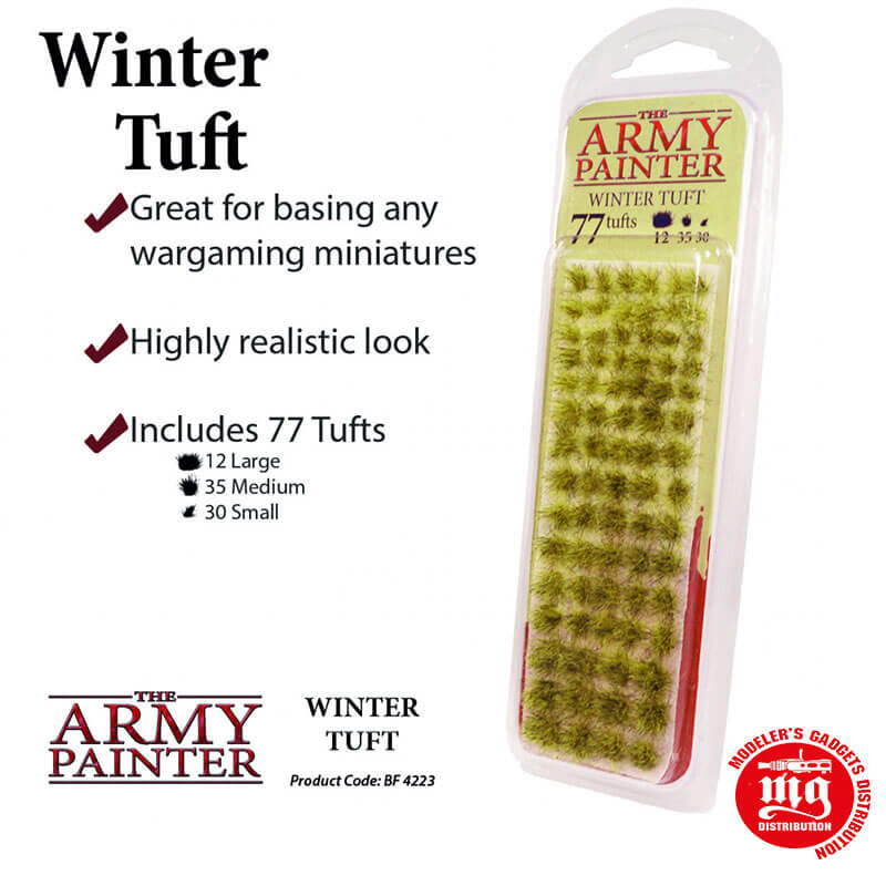 BATTLEFIELDS WINTER TUFT THE ARMY PAINTER BF 4223