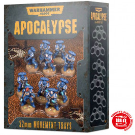 APOCALYPSE MOVEMENT TRAYS 32 MM WARHAMMER 40000