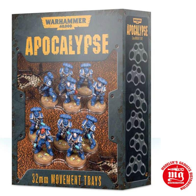 APOCALYPSE MOVEMENT TRAYS 40 MM warhammer 40000