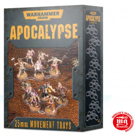 APOCALYPSE MOVEMENT TRAYS 25 MM WARHAMMER 40000