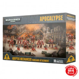 APOCALYPSE ADEPTUS MECHANICUS VANGUARD DETACHMENT WARHAMMER 40000