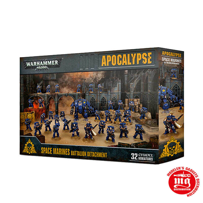 APOCALYPSE SPACE MARINES BATTALION DETACHMENT WARHAMMER 40000