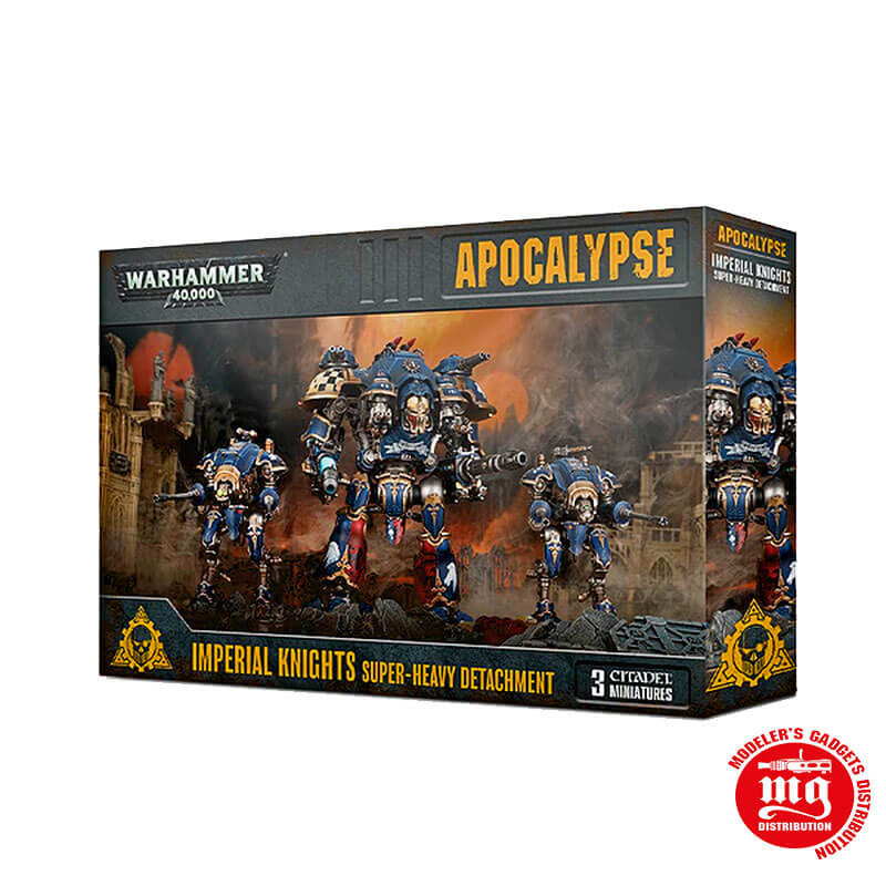 APOCALYPSE IMPERIAL KNIGHTS SUPER HEAVY DETACHMENT WARHAMMER 40000