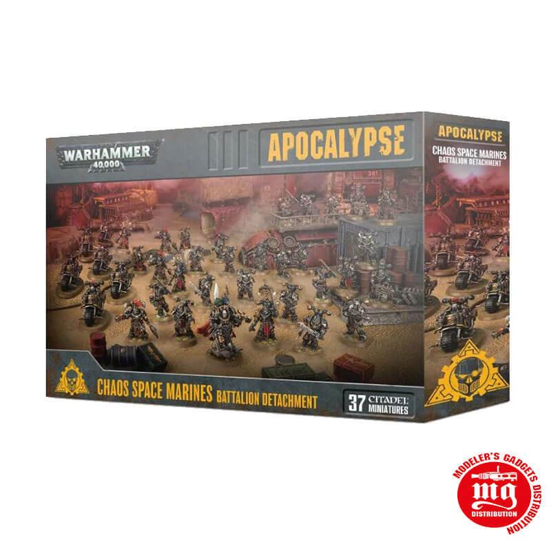 APOCALYPSE CHAOS SPACE MARINES BATTALION DETACHMENT warhammer 40000