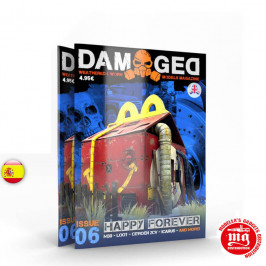 DAMAGED MAGAZINE ISSUE 06 SIEMPRE HAPPY  ABT717