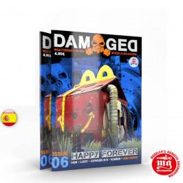 DAMAGED MAGAZINE ISSUE 06 SIEMPRE HAPPY  ABT717