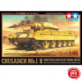 BRITISH CRUISER TANK Mk I AND II TAMIYA 32541 ESCALA 1:48